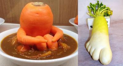 #OK! უცნაური ფორმისა და ზომის საკვები: ფოტოები, რომლებსაც შედეგით გაოცებული ადამიანები იღებენ