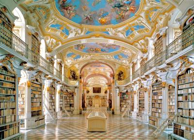 """#OK! """"არაამქვეყნიური სამყარო"""", სადაც წიგნები ინახება: 10 ყველაზე თვალწარმტაცი ბიბლიოთეკა"""