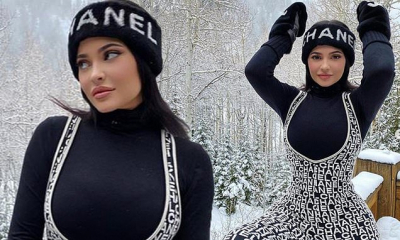 #OK! კაილი ჯენერი Chanel-ის ტანსაცმელში პოზირებს! მილიარდერის ახალი ფოტოები!