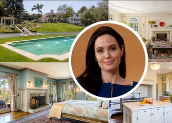 #OK! ანჯელინა ჯოლის $25,000,000 ღირებულების  სახლი ლოს-ანჯელესში!
